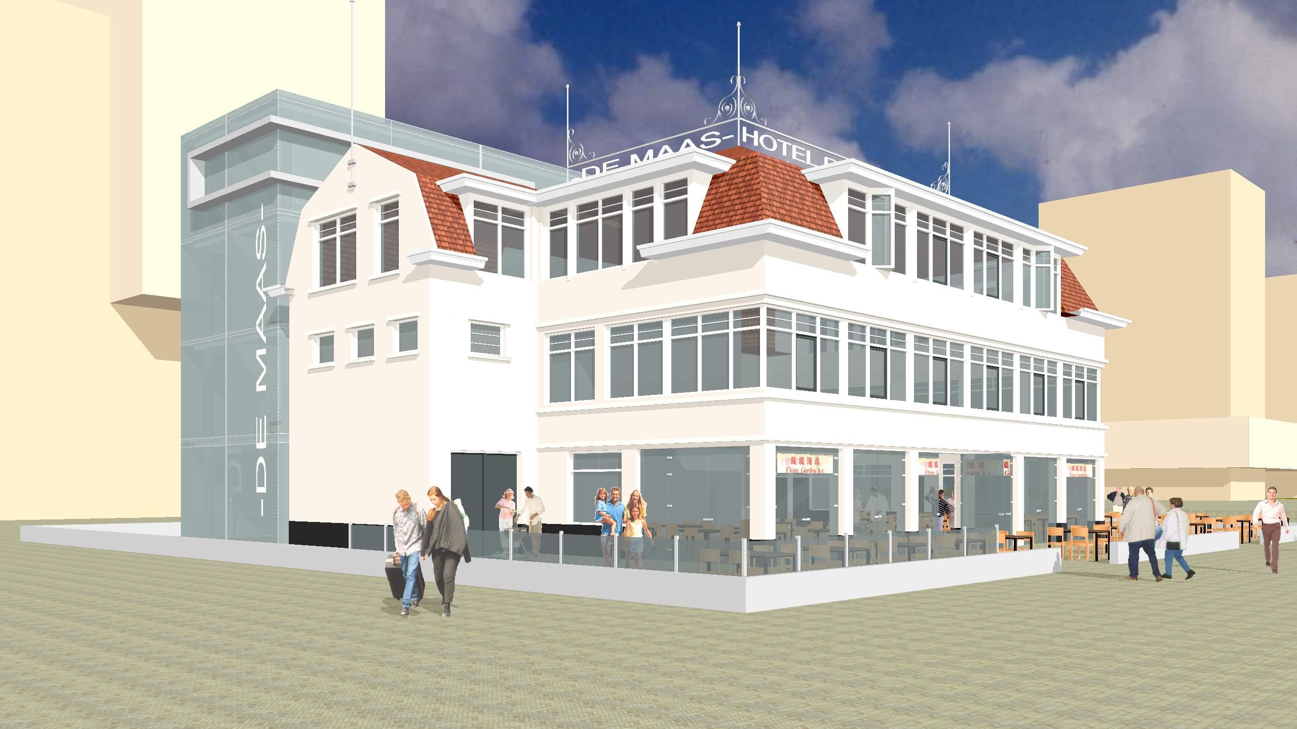 Houdijk Architecten Hotel De Maas Vlaardingen